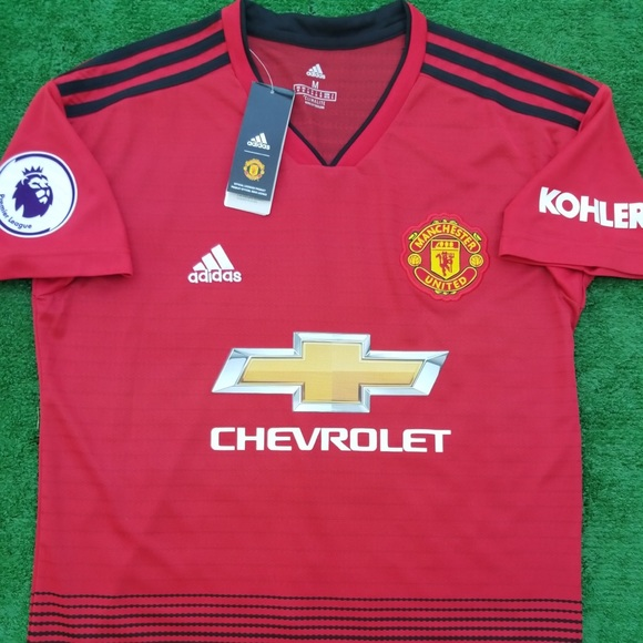 4864efabe 2018 19 Manchester United soccer jersey Pogba